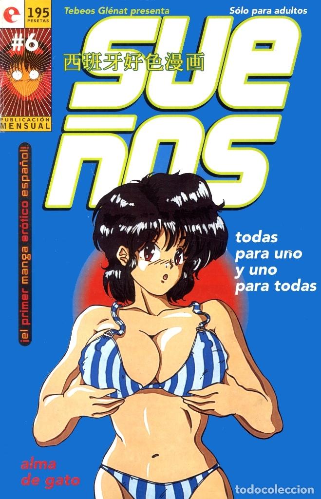 SUEÑOS-6 (GLÉNAT, 1995) DE JAVIER SÁNCHEZ Y RAFAEL SOUSA. (Tebeos y Comics - Glénat - Serie Erótica)