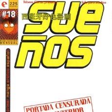 Cómics: SUEÑOS-18 (GLÉNAT, 1996) DE JAVIER SÁNCHEZ Y RAFAEL SOUSA. CON POSTER DE REGALO. Lote 289662513