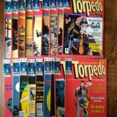 Cómics: TORPEDO 1936 - LOTE AVANZADO DE 27 NUMEROS - GLENAT - BERNET & ABULI -. Lote 174087178