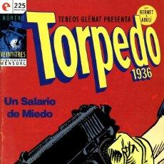 Cómics: TORPEDO-23 (GLÉNAT, 1996) DE JORDI BERNET Y ENRIQUE SÁNCHEZ ABULÍ. Lote 289829078
