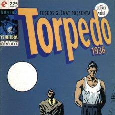 Cómics: TORPEDO-22 (GLÉNAT, 1996) DE JORDI BERNET Y ENRIQUE SÁNCHEZ ABULÍ. Lote 289828893