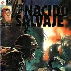 Comics: NACIDO SALVAJE-2 (GLÉNAT, 1995) DE FERNANDO DE FELIPE. Lote 174262373