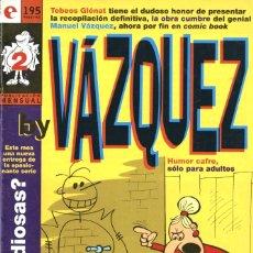 Cómics: BY VÁZQUEZ, NÚMERO 2 (GLÉNAT, 1995) DE MANUEL VÁZQUEZ. TEBEOS GLÉNAT. Lote 174262558