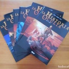 Cómics: LA HISTORIA OCULTA - COMPLETA - 6 TOMOS - TAPA DURA - GLENAT (CC). Lote 174465549