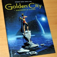 Cómics: GOLDEN CITY, SAQUEADORES DE CHATARRA - PECOUEUR / MALFIN / SCHELLE / ROSA - EDITORIAL GLÉNAT - 2002. Lote 174601632