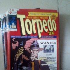 Cómics: TORPEDO 1936 COMPLETA 30 NUMS. - GLENAT. Lote 174989272