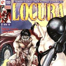 Cómics: LOCURA, NÚMERO 2 (GLÉNAT, 1996) DE BAUXÍ. TEBEOS GLÉNAT. Lote 175098558