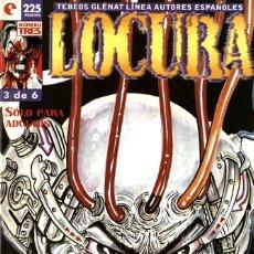Cómics: LOCURA, NÚMERO 3 (GLÉNAT, 1996) DE BAUXÍ. TEBEOS GLÉNAT. Lote 175098685