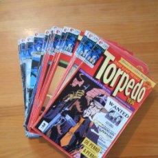 Cómics: TORPEDO 1936 - COMPLETA - 30 NUMEROS - BERNET / ABULI - GLENAT (FW). Lote 175146963