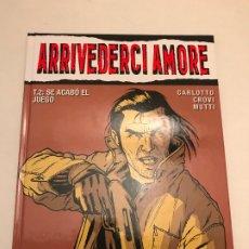 Fumetti: VIÑETAS NEGRAS Nº 15. ARRIVEDERCI AMORE 2. SE ACABO EL JUEGO. GLENAT 2006. Lote 175264590
