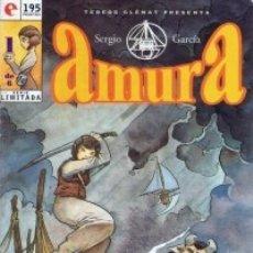 Comics: AMURA COMPLETA 1 AL 6 (SERGIO GARCIA) GLENAT - MUY BUEN ESTADO. Lote 175838694