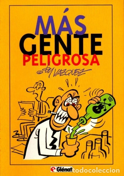 MAS GENTE PELIGROSA (VAZQUEZ) GLENAT - MUY BUEN ESTADO - SUB01M (Tebeos y Comics - Glénat - Autores Españoles)