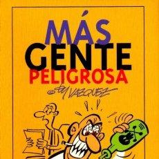 Cómics: MAS GENTE PELIGROSA (VAZQUEZ) GLENAT - MUY BUEN ESTADO - SUB01M. Lote 175839499