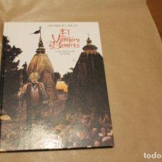 Cómics: EL VAMPIRO DE BENARÉS, 1-LAS BESTIAS DE NOCHE, TAPA DURA, EDITORIAL GLENAT. Lote 176480305