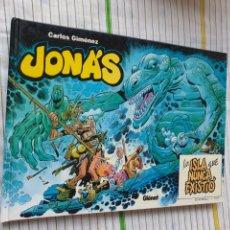 Cómics: JONAS , LA ISLA QUE NUNCA EXISTIÓ, CARLOS GIMÉNEZ. Lote 176481010
