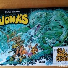 Cómics: JONAS LA ISLA QUE NUNCA EXISTIO. CARLOS GIMENEZ. Lote 176516897