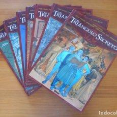 Cómics: EL TRIANGULO SECRETO - COMPLETA - 7 TOMOS TAPA DURA - DIDIER CONVARD - GLENAT (U1). Lote 176737687