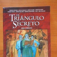 Cómics: EL TRIANGULO SECRETO - OBRA COMPLETA - GLENAT (BJ). Lote 176853955