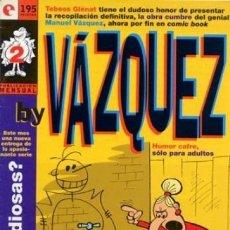Cómics: BY VAZQUEZ Nº 2 - GLENAT - BUEN ESTADO - OFM15. Lote 176921623