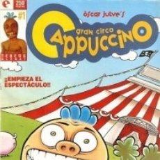 Cómics: GRAN CIRCO CAPPUCCINO Nº 1 - GLENAT - ESTADO EXCELENTE - OFM15. Lote 176930112