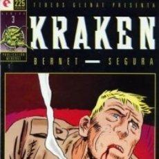 Cómics: KRAKEN Nº 3 - GLENAT - MUY BUEN ESTADO - OFM15. Lote 176932250