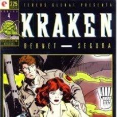 Cómics: KRAKEN Nº 4 - GLENAT - MUY BUEN ESTADO - OFM15. Lote 176932370