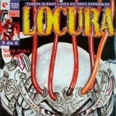 Cómics: LOCURA Nº 3 - GLENAT - MUY BUEN ESTADO - OFM15. Lote 176937145