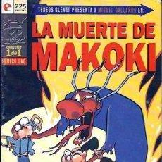 Cómics: LA MUERTE DE MAKOKI - GLENAT - MUY BUEN ESTADO - OFM15. Lote 176937614