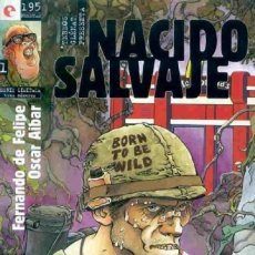 Cómics: NACIDO SALVAJE Nº 1 - GLENAT - MUY BUEN ESTADO - OFM15. Lote 176937939