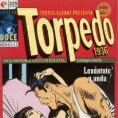 Cómics: TORPEDO 1936 Nº 12 - GLENAT - MUY BUEN ESTADO - OFM15. Lote 176947574