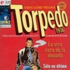 Cómics: TORPEDO 1936 Nº 14 - GLENAT - MUY BUEN ESTADO - OFM15. Lote 176947652