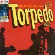 Cómics: TORPEDO 1936 Nº 15 - GLENAT - MUY BUEN ESTADO - OFM15. Lote 176947678