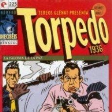 Cómics: TORPEDO 1936 Nº 16 - GLENAT - MUY BUEN ESTADO - OFM15. Lote 176947714