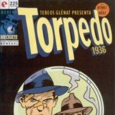 Cómics: TORPEDO 1936 Nº 17 - GLENAT - MUY BUEN ESTADO - OFM15. Lote 176947768