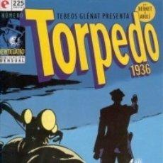 Cómics: TORPEDO 1936 Nº 24 - GLENAT - MUY BUEN ESTADO - OFM15. Lote 176947878