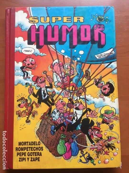 SUPER HUMOR VOLUMEN 47, 1ª EDICIÓN MAYO 1990 (Tebeos y Comics - Glénat - Autores Españoles)