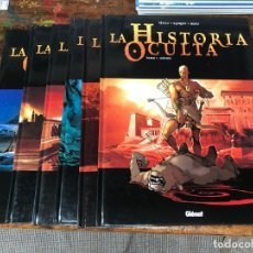 Cómics: LA HISTORIA OCULTA - 6 TOMOS - COMPLETA - GLENAT -TAPA DURA . Lote 177335618