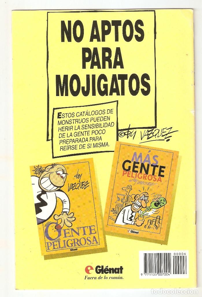 Cómics: BY VAZQUEZ - Nº 6 - ARENAS CALIENTES - GLENAT - 1995 - - Foto 2 - 177429828