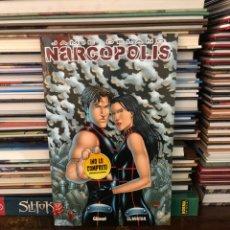 Cómics: NARCOPOLIS - JAMIE DELANO - GLÉNAT. Lote 177547933