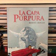 Cómics: LA CAPA PÚRPURA - MAKYO · ROCCO - GLÉNAT, 2010. Lote 177570462