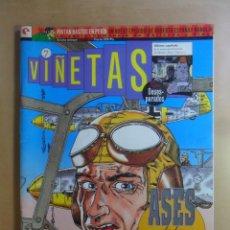 Cómics: Nº 7 - VIÑETAS - EDICIONES GLENAT - JULIO 1994. Lote 177616949