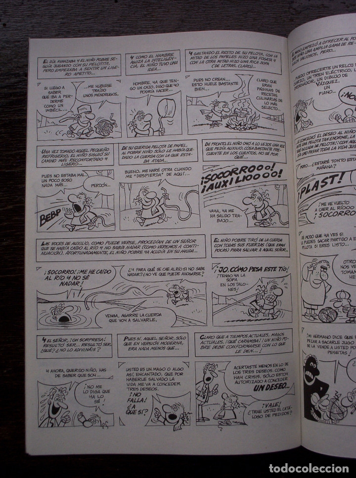 Cómics: BY VAZQUEZ Nº 5 - GLÉNAT - AÑO 1995 - MUY BUEN ESTADO - Foto 6 - 178150372