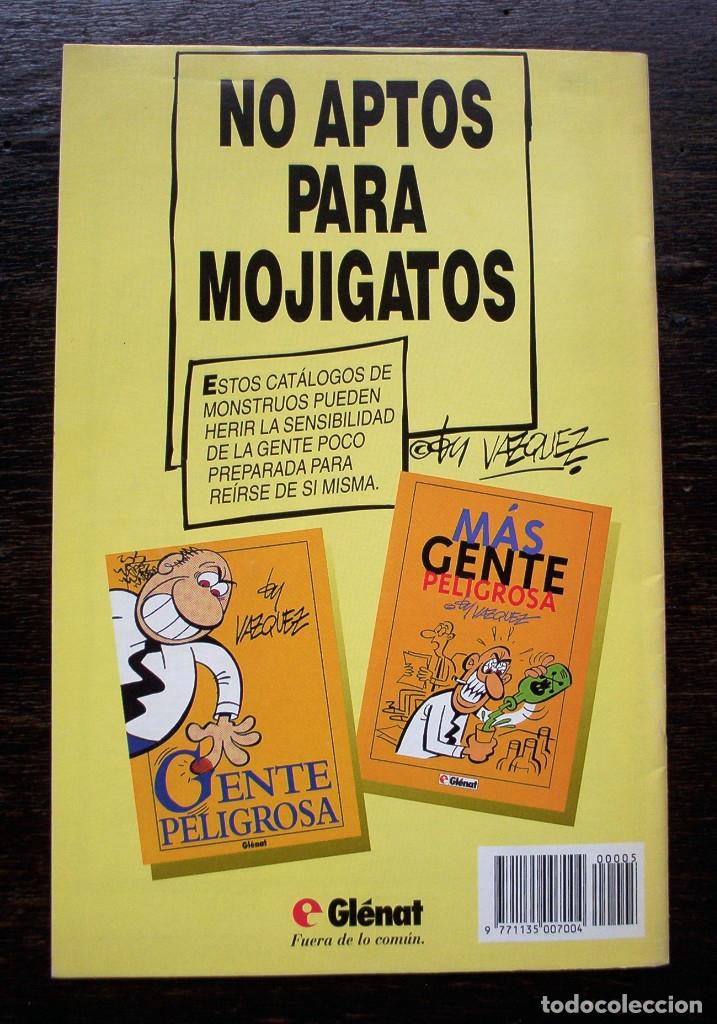 Cómics: BY VAZQUEZ Nº 5 - GLÉNAT - AÑO 1995 - MUY BUEN ESTADO - Foto 10 - 178150372