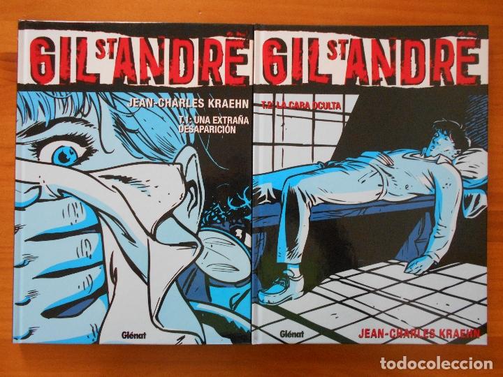 Cómics: GIL ST ANDRE - COMPLETA - 8 TOMOS - JEAN-CHARLES KRAEHN - TAPA DURA - GLENAT (CH) - Foto 2 - 178946347