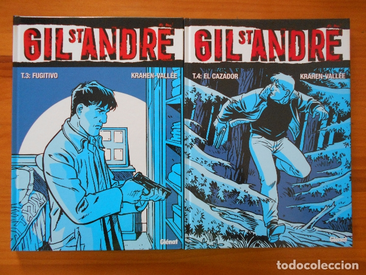 Cómics: GIL ST ANDRE - COMPLETA - 8 TOMOS - JEAN-CHARLES KRAEHN - TAPA DURA - GLENAT (CH) - Foto 3 - 178946347