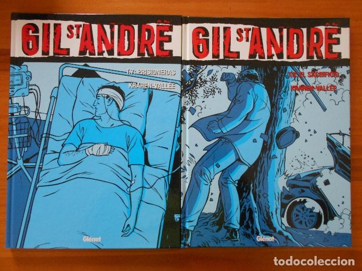 Cómics: GIL ST ANDRE - COMPLETA - 8 TOMOS - JEAN-CHARLES KRAEHN - TAPA DURA - GLENAT (CH) - Foto 5 - 178946347
