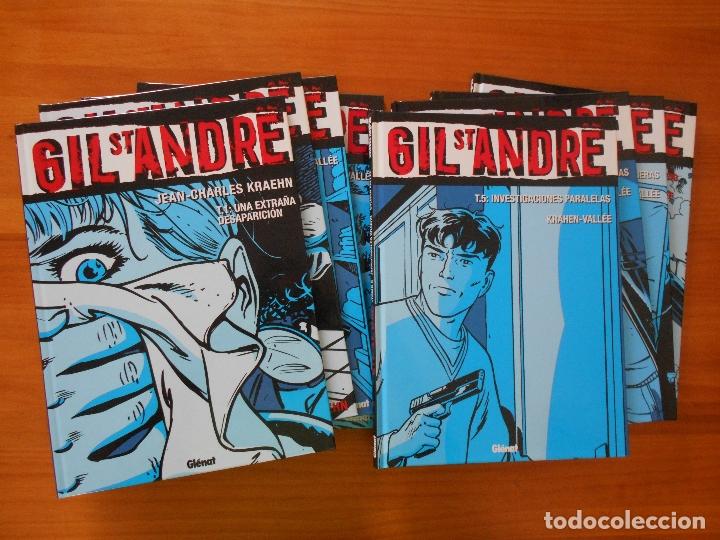 GIL ST ANDRE - COMPLETA - 8 TOMOS - JEAN-CHARLES KRAEHN - TAPA DURA - GLENAT (CH) (Tebeos y Comics - Glénat - Comic USA)