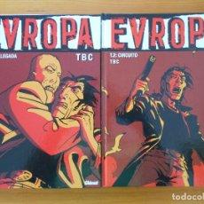 Cómics: EVROPA COMPLETA - EUROPA - 2 TOMOS TAPA DURA - TBC - GLENAT (CB). Lote 179257806