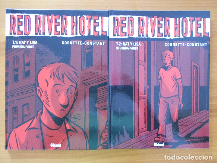 Cómics: RED RIVER HOTEL COMPLETA - 3 TOMOS TAPA DURA - CORNETTE - CONSTANT - GLENAT (CB) - Foto 2 - 179258000