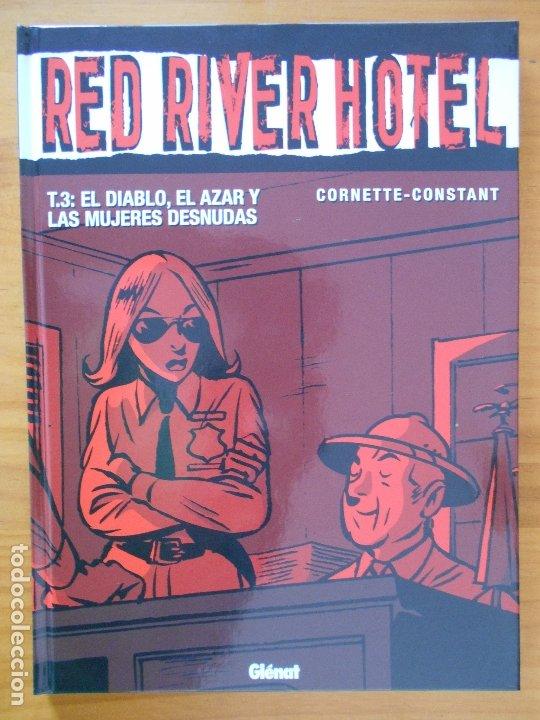 Cómics: RED RIVER HOTEL COMPLETA - 3 TOMOS TAPA DURA - CORNETTE - CONSTANT - GLENAT (CB) - Foto 3 - 179258000